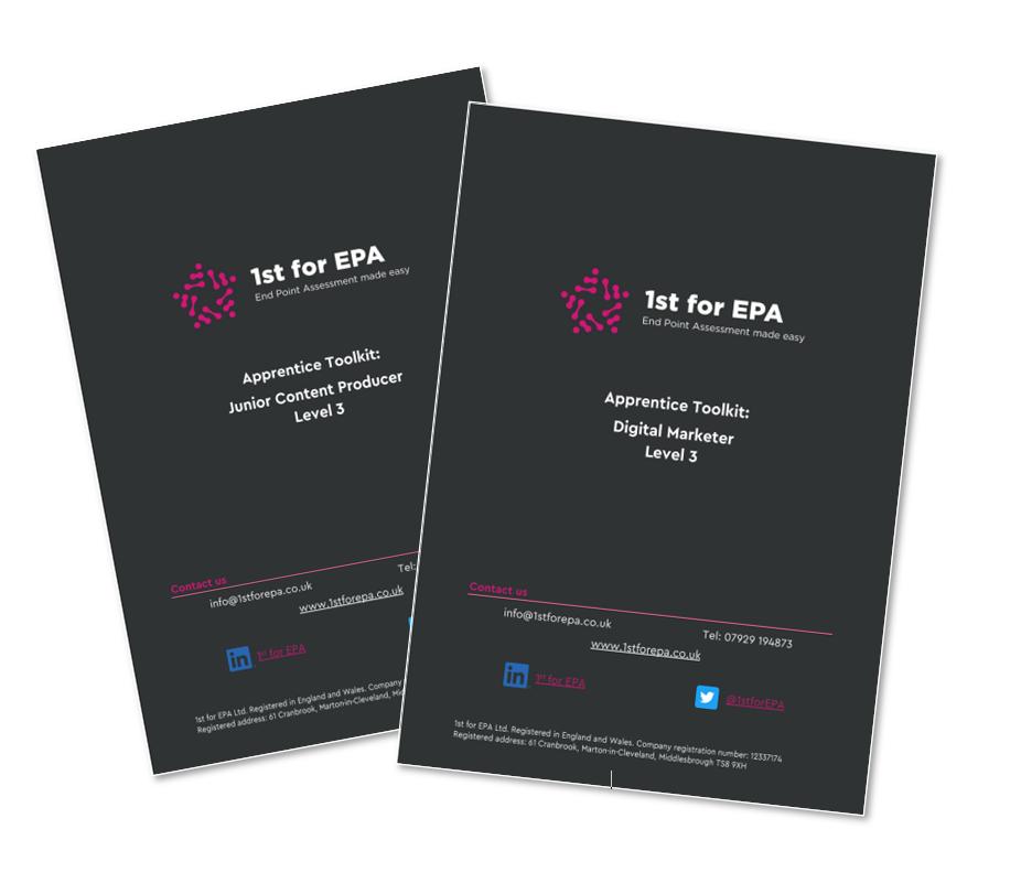 1st for EPA Apprentice Toolkit